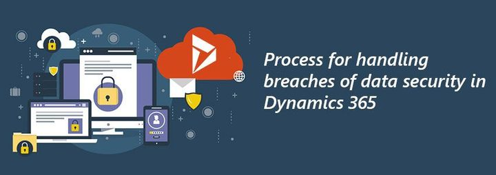 Process for handling breaches of data security in Dynamics 365