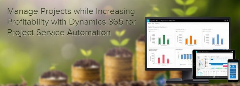 Manage Projects While Increasing Profitability with Dynamics 365 for Project Service Automation