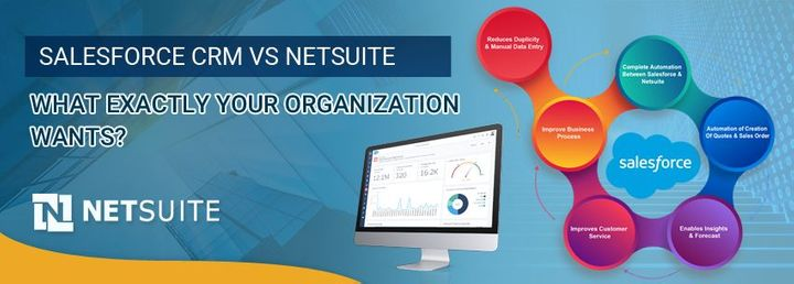 Salesforce CRM Vs NetSuite – What Exactly Your Organization Wants?