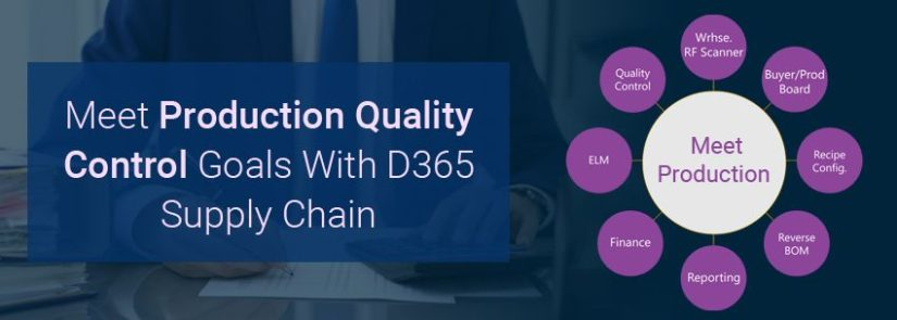 Meet Production Quality Control Goals With D365 Supply Chain